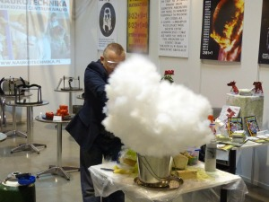 Liquid nitrogen is also used in all sorts of science demonstrations.